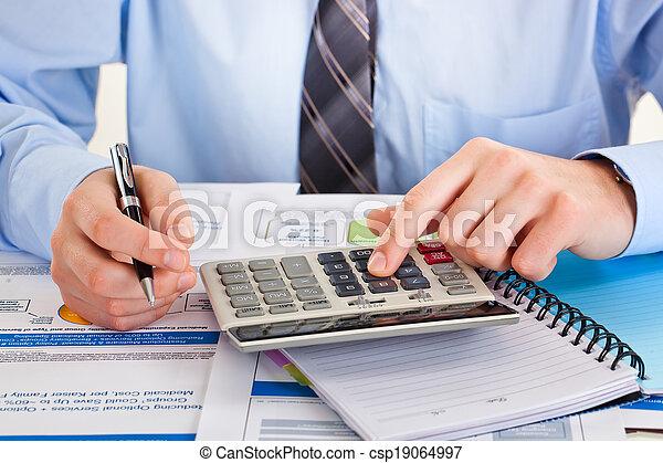 contabilidad, empresa / negocio - csp19064997