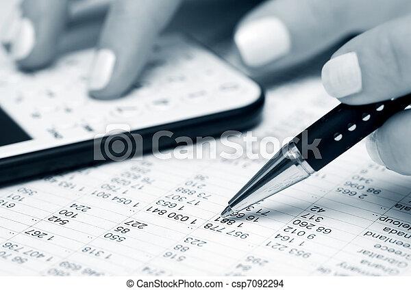 contabilidad - csp7092294