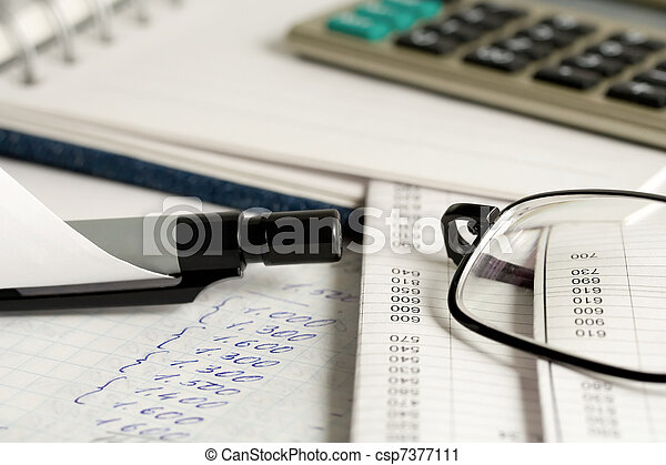contabilidad - csp7377111