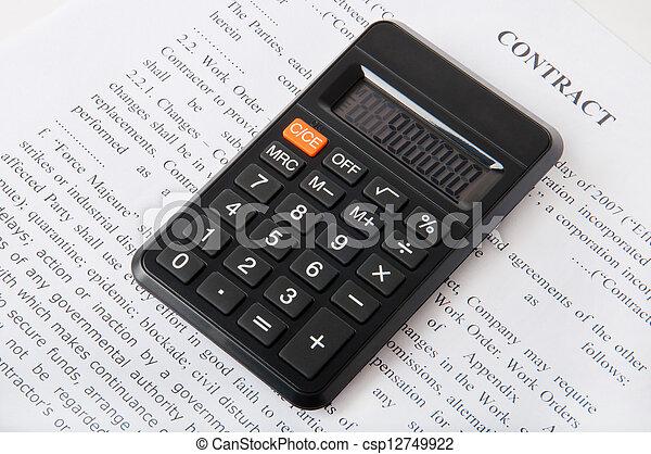 contabilidade - csp12749922