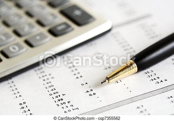 contabilidade - csp7355562