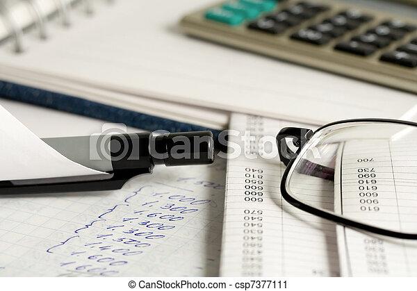 contabilidade - csp7377111