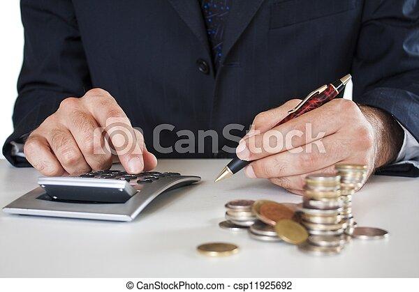contabilidade - csp11925692