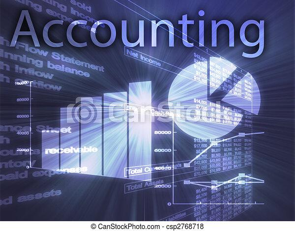 contabilidade, ilustração - csp2768718