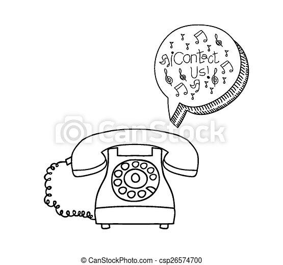 contact, conception, nous - csp26574700
