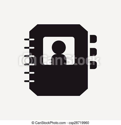 contact icon - csp28719960