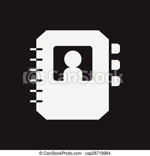 contact icon - csp28719964
