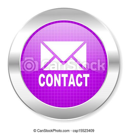 contact icon - csp15523409