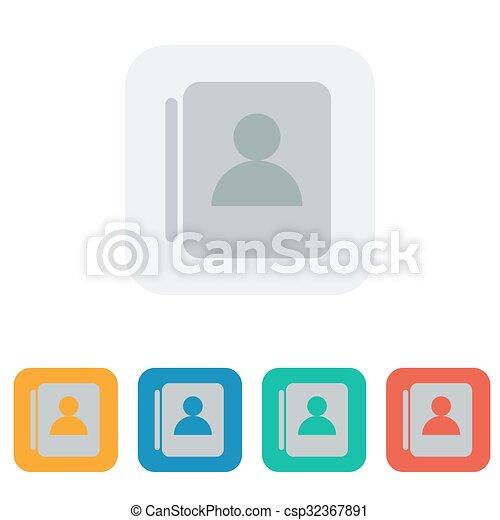 contact icon - csp32367891