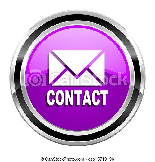 contact icon - csp15713136