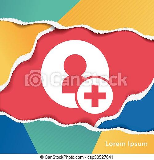 contact icon - csp30527641