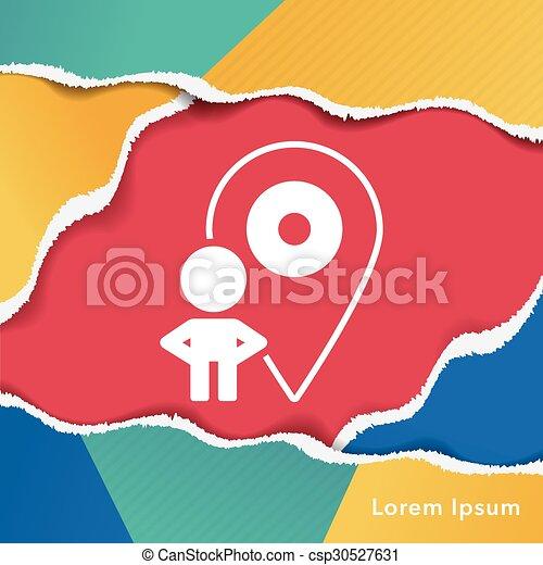 contact icon - csp30527631