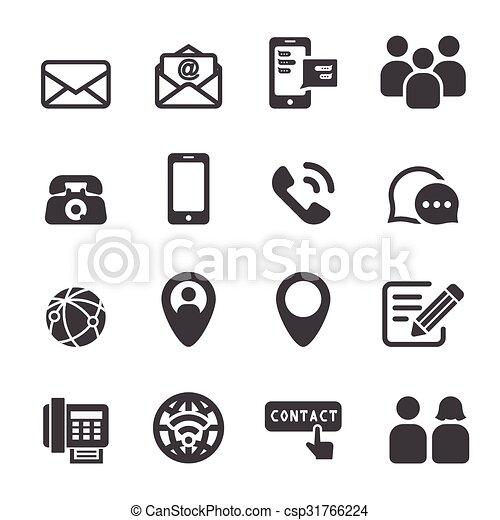 contact icon - csp31766224