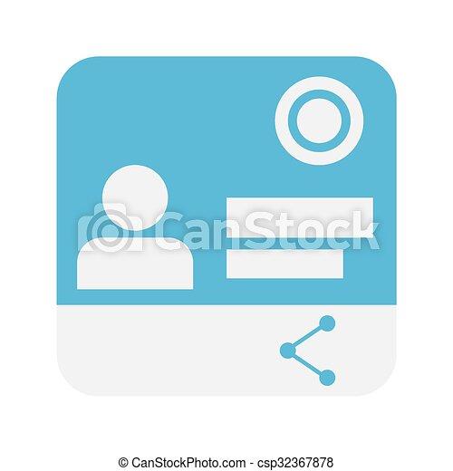 contact icon - csp32367878