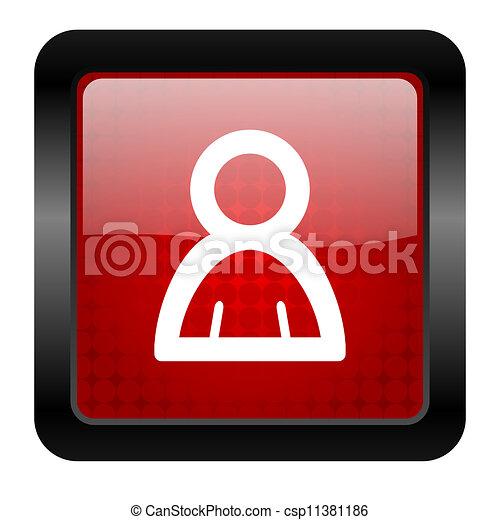 contact icon - csp11381186