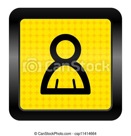 contact icon - csp11414664