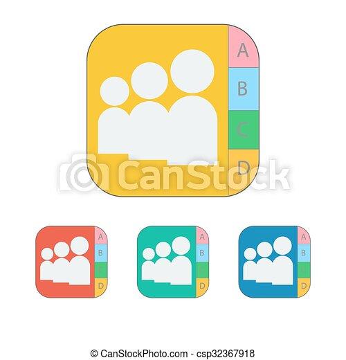 contact icon - csp32367918