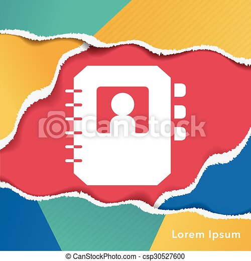 contact icon - csp30527600