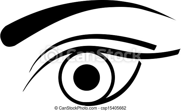 Contact lens business logo.