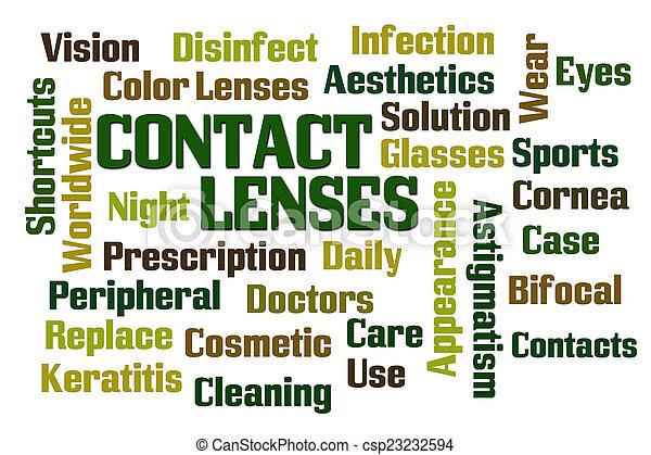 Contact Lenses - csp23232594