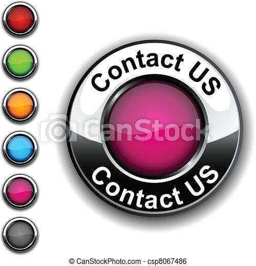 Contact us button. - csp8067486