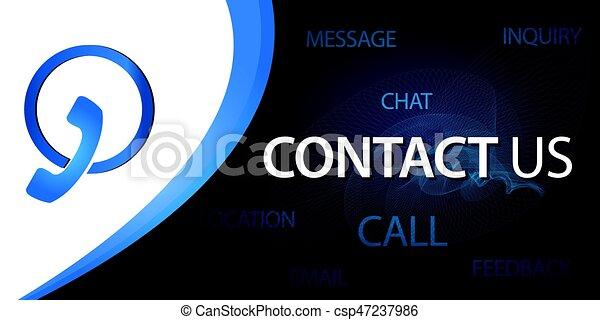 contact us button - csp47237986