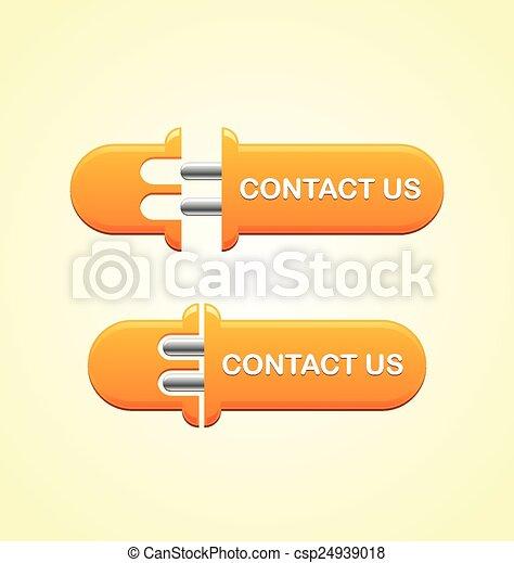 Contact us button - csp24939018