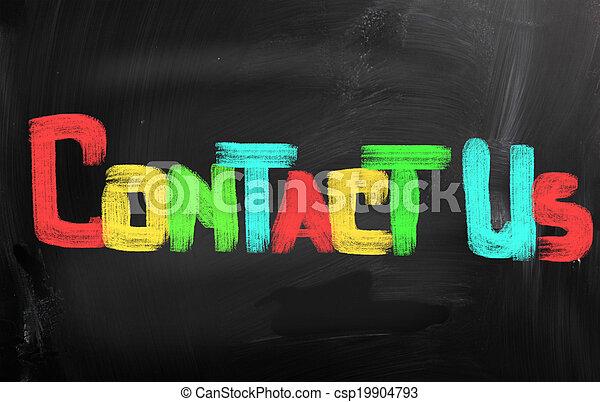 Contact Us Concept - csp19904793