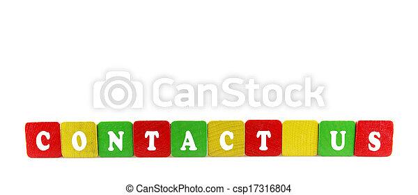 contact us concept - csp17316804