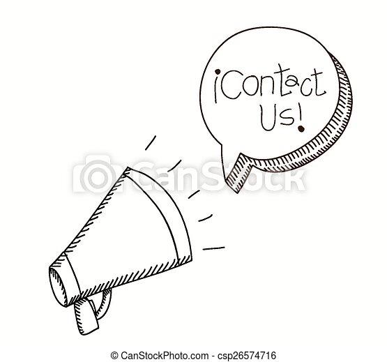 Contact us design  - csp26574716
