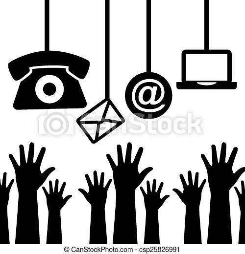 contact us  - csp25826991