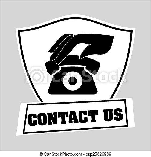 contact us  - csp25826989