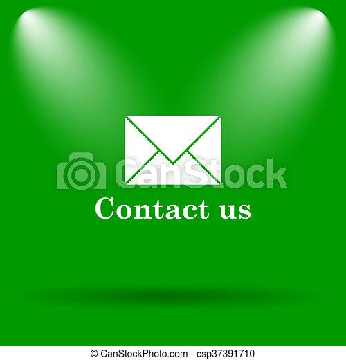 Contact us icon - csp37391710