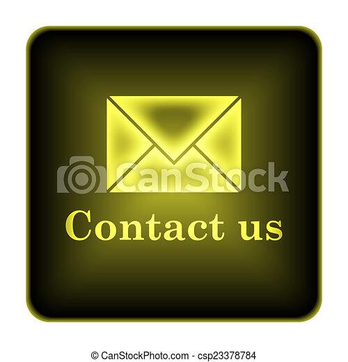 Contact us icon - csp23378784