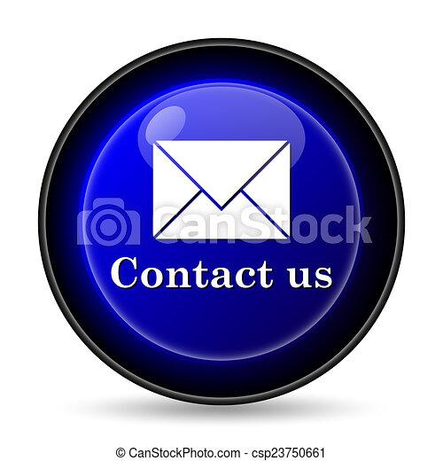 Contact us icon - csp23750661