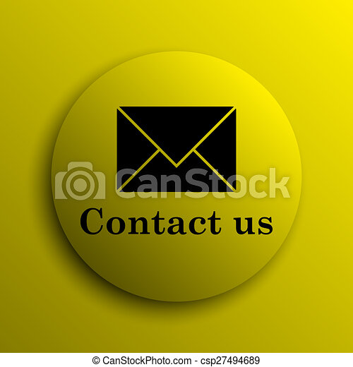 Contact us icon - csp27494689