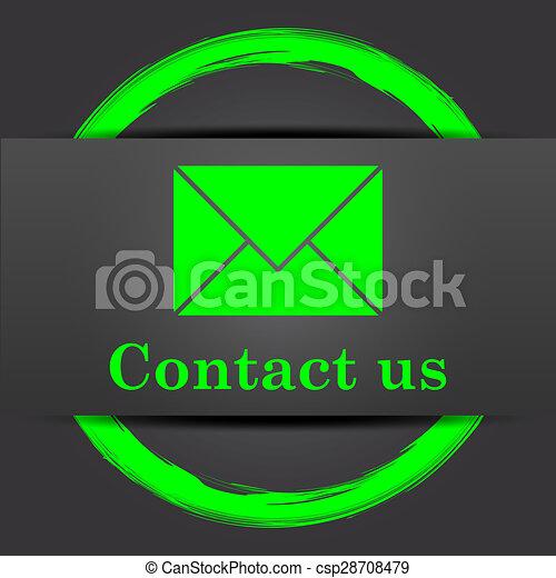 Contact us icon - csp28708479