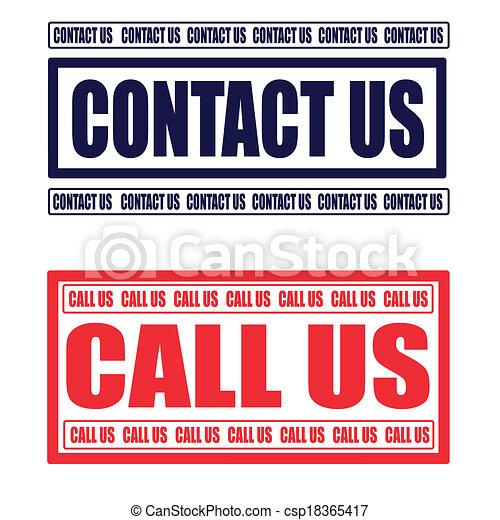 contact us - csp18365417