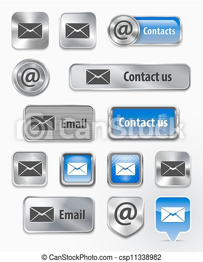 Contacts/Mail/Email web elements - csp11338982