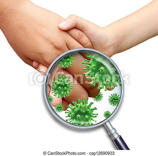 contagioso, infezione - csp12690933