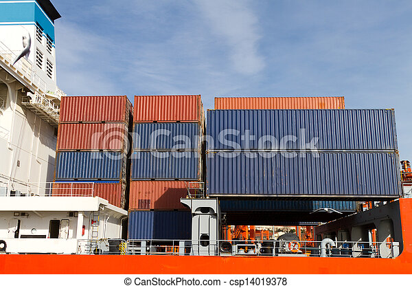 Container Ship - csp14019378