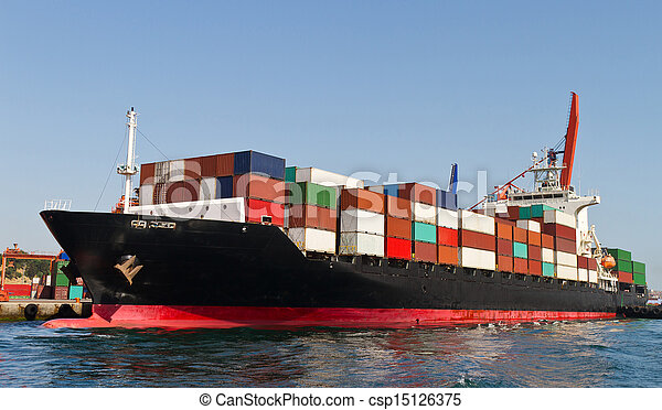 Container Ship - csp15126375