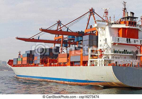 Container Ship - csp16273474