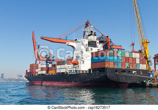 Container Ship - csp16273517