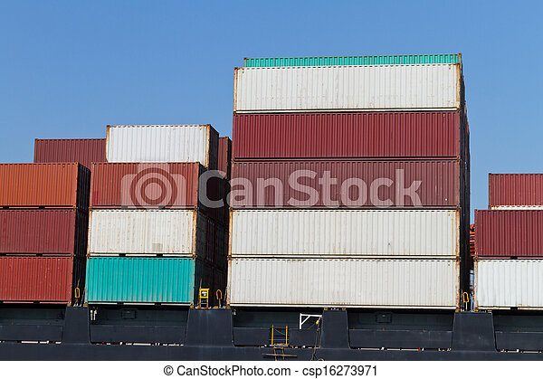 Container Ship - csp16273971