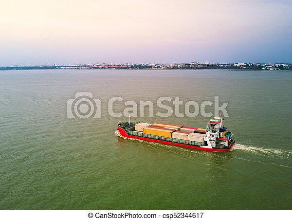 Container Ship - csp52344617