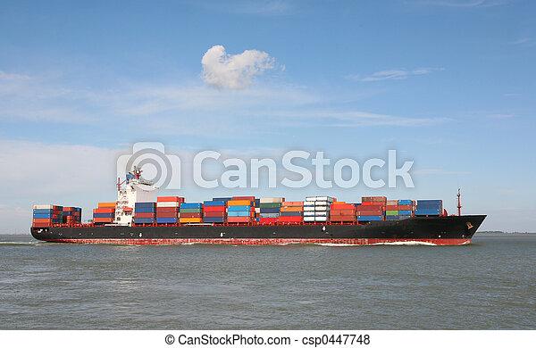 container ship - csp0447748