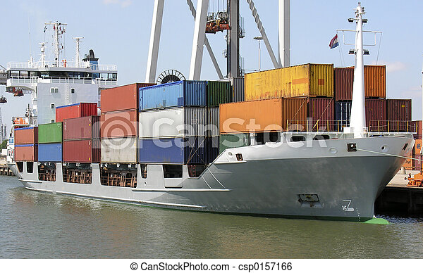 Container ship - csp0157166