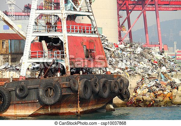 container ship - csp10037868
