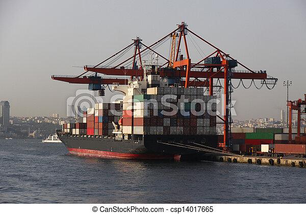 Container Ship - csp14017665